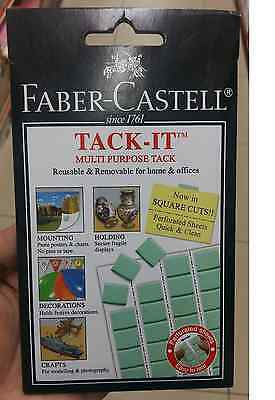 Faber Castell Adhesive Glue Tack It Reusable & Removable For Home Office School