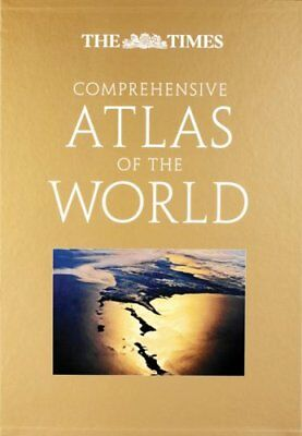 The Times Comprehensive Atlas of the World, The Times, New, Book