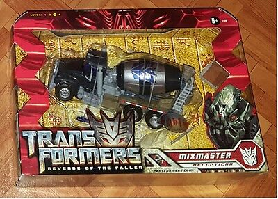 TRANSFORMERS ROTF VOYAGER MIXMASTER MISB Revenge of the Fallen movie 2 NEW