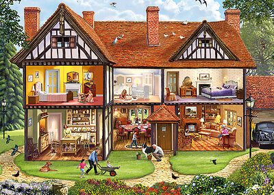 GIBSONS JIGSAW PUZZLE 1000 PIECES Behind Closed Doors by STEVE CRISP G6190