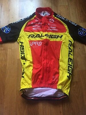 Team Raleigh Short Sleeve Moa Jersey Size Small