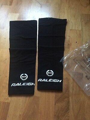Team Raleigh Knee Warmers Moa Size Small New