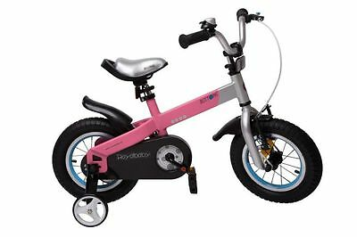 RB Buttons Aluminium Kindervelo 12 Zoll pink