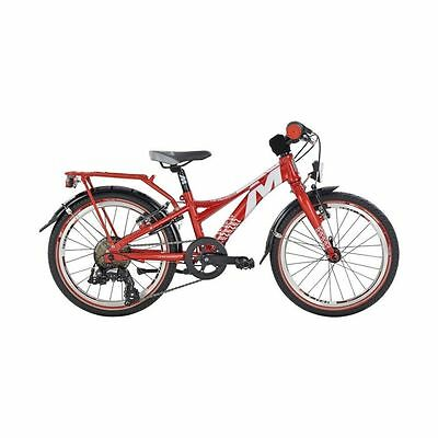 Mustang Trailchecker B Kindervelo 18 Zoll weiss/rot