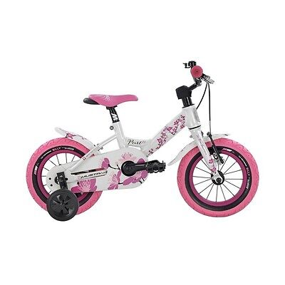 Mustang Pearl Kindervelo 12 Zoll rosa/weiss