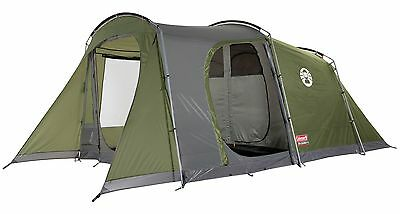 COLEMAN DA GAMA 4 MAN TENT person camping family large spacious 2 bedrooms