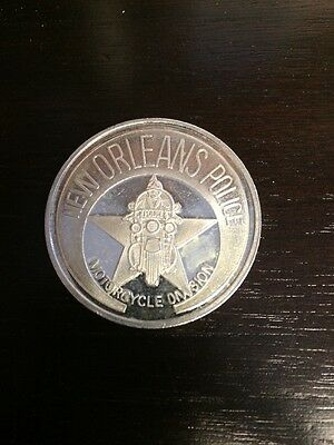 Very Rare Sgt Dominick J. Mumfrey Silver .999 Doubloon. First Policeman