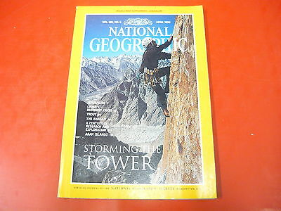 RIVISTA: NATIONAL GEOGRAPHIC n.4 APRILE 1996 STORMING THE TOWER!JERUSALEMCHINA
