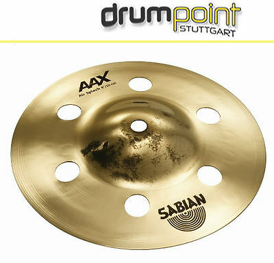 "Sabian AAX 10"" Air Splash Cymbal Becken  ** SONDREPREIS **"