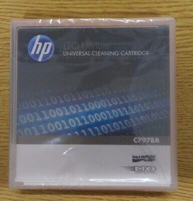 HP Genuine C7978A LTO Ultrium Cleaning Cartridge - New, Sealed