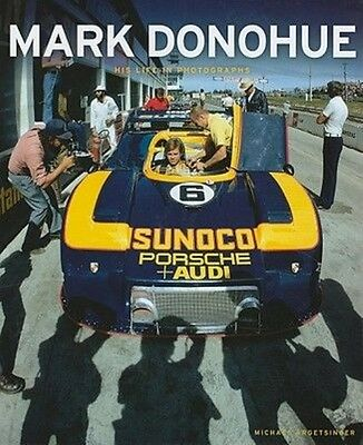 Mark Donohue by Michael Argetsinger Hardcover Book (English)
