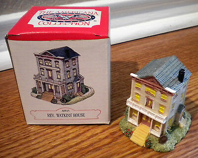 Liberty Falls Collection Rev.Watkin's House Miniature Fairy Garden House