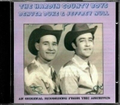 Hardin County Boys - Denver Duke & Jeffrey Null  RARE US Bluegrass CD (New!)