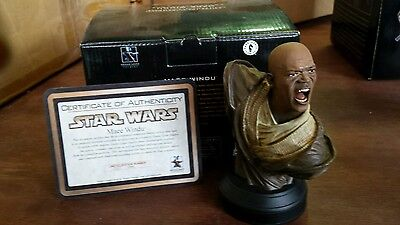 Star Wars MACE WINDU Bust Gentle Giant  2337/2500
