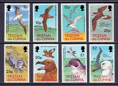 Tristan da Cunha. 8 mint never hinged stamps 1977.