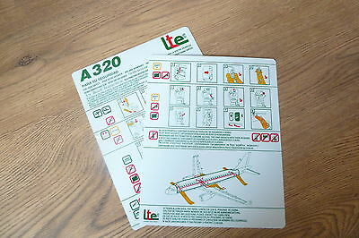 LTE A320 series Safety Card