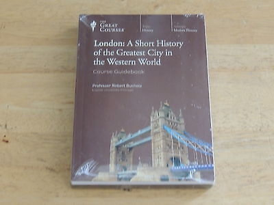 The Great Courses London A Short History DVD & Book NEW SEALED