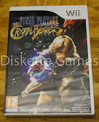 Final Fantasy The Crystal Bearers - Nintendo Wii - Pal España - Nuevo Precintado