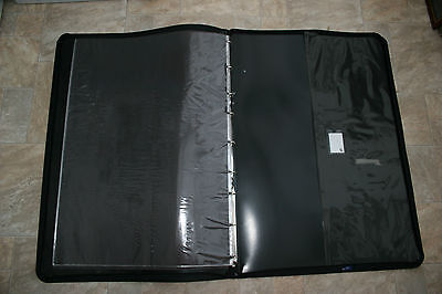 A1 Art Portfolio Carry Case with 11 Sleeve Inserts and Shoulder strap