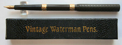 Waterman Fountain Pen #12 BCHR Eyedropper Pen with Two GFT Bands w11035 Vintage