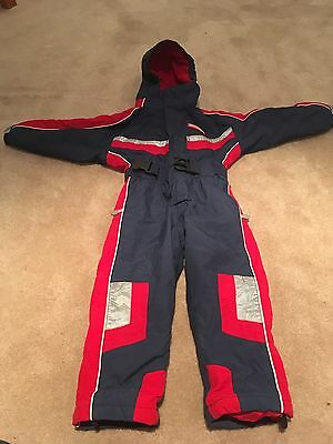 Boys All in One Ski Suit Age 5-7