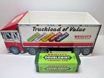 Wrigley's Chewing Gum Truckload Of Value Store Counter Display & Tin Box