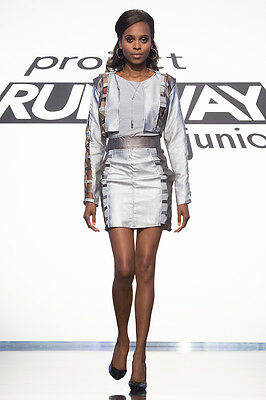 Project Runway: Junior Season 2 Ep. 4 Woman-on-the-Go Outfit by Rene