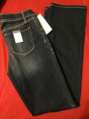 Womens Maternity Under The Belly Band Bootcut Leg Jeans Sz 8