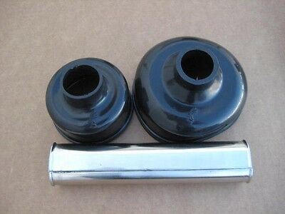 ZUNDAPP KS601 BLACK drive shaft stainless steel cover and boots OEMZD110018