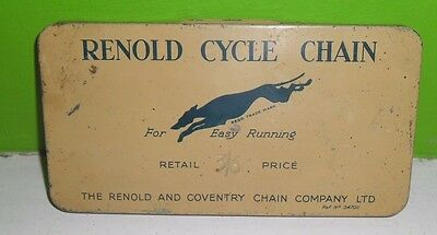 Vintage Renold Cycle Chain Tin