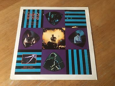 Simple Minds - Don't You Forget About Me (Breakfast) vinyl - Virgin Records 1985
