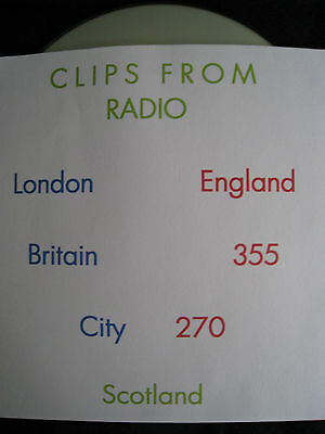Pirate Radio CD Clips From London, England, Britain, 355, City, 270, Scotland