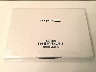 Mac Blot Film 30 Sheets 100% Genuine & Authentic - Sealed Pack - Removes Oil
