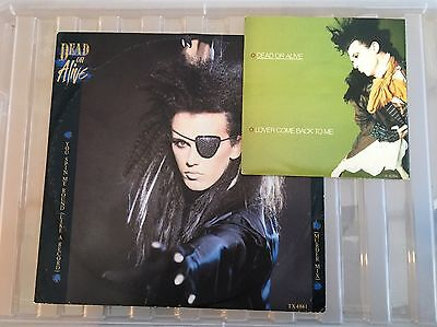 """Dead Or Alive You Spin Me Round (Like A Record) PLUS Lover Come Back To Me 7"""""""