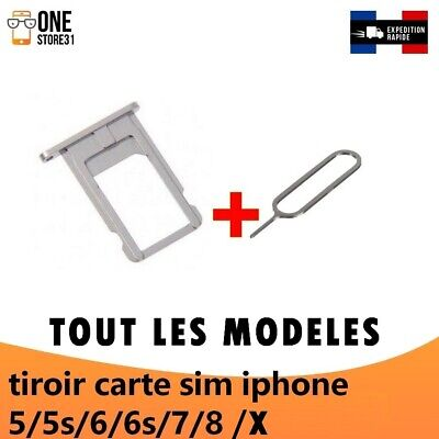 ORIGINAL TIROIR SUPPORT CARTE NANO SIM IPHONE 5/5s/6/6s 6 PLUS iphone 7