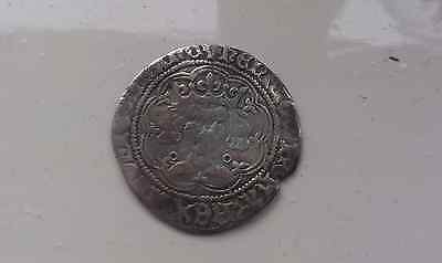 English Henry  Silver Coin Full Groat