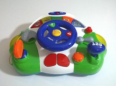 Chicco Toy Talking Driver Steering Wheel Bilingual English And French 12 Months+