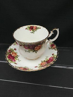 Royal Albert Old Country Rose Large Breakfast  Cup And Saucer