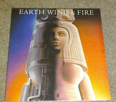 Earth  Wind and Fire Raise   album  on  c b s  records   1981