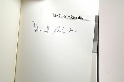 Signed First Edition Akst, Daniel - The Webster Chronicle Bluehen Books Hardcove