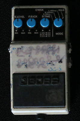 Boss Dd3  Digital Delay A Awesome Sounding Classic Effect Pedal Vg-Cond & Gwo