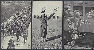 Us Wwi 1916 Collection Of 10 Photo Cards Of Us Army In Preperation For War Texas