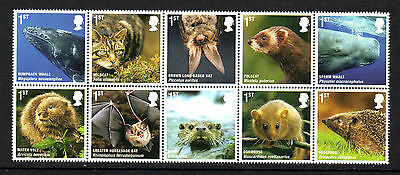 2010 Mammals Set Fine U/m - Below Face