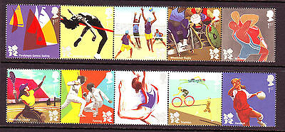 2011 Olympics Set Fine U/m - Below Face