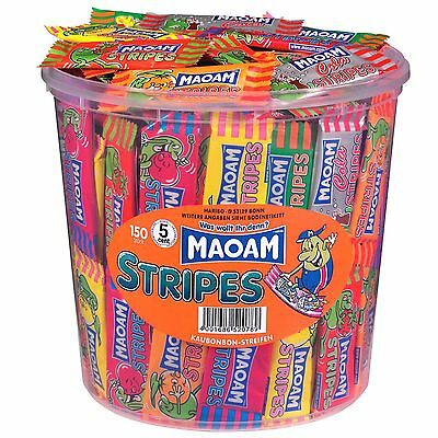 """1 Container x MAOAM """"Stripes"""" 1,05kg / 2.31lbs  **NEW + BEST PRICE**"""