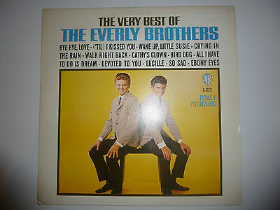 """The Everly Brothers – 'Very Best Of' 12"""" vinyl album LP. UK A1/B1. EX/EX"""