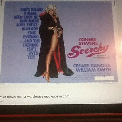 Scorchy, starring Connie Stevens new DVD. Please note several scenes of nudity !