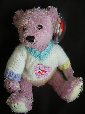 Ty Beanies Bear - Attic Treasures Lancaster With Tag