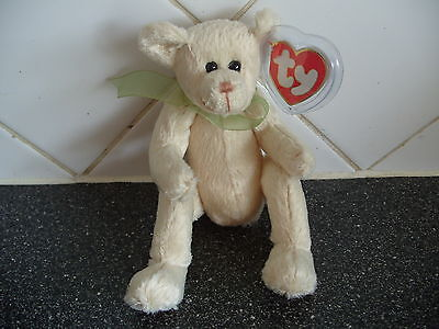 Ty Beanies Bear - Attic Treasures Harper  With Tag