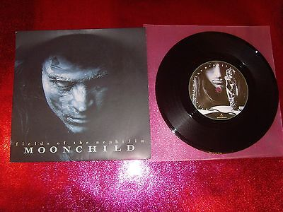Fields Of The Nephilim - Moonchild - 7'' Ex+/n.mint/sit 52/a1-B1 Damont/1988 Uk